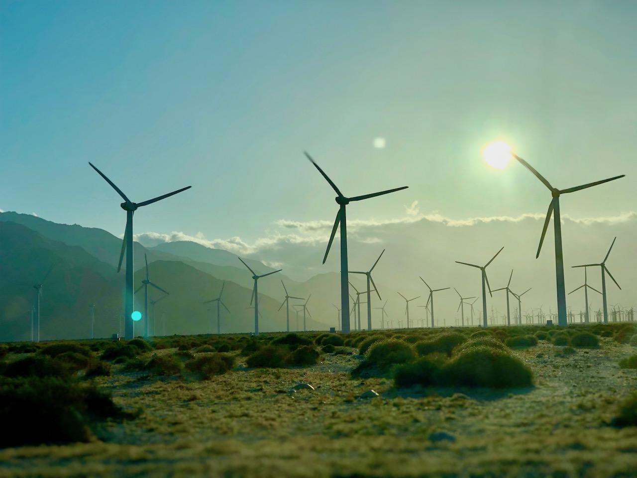 California Highway Windmills