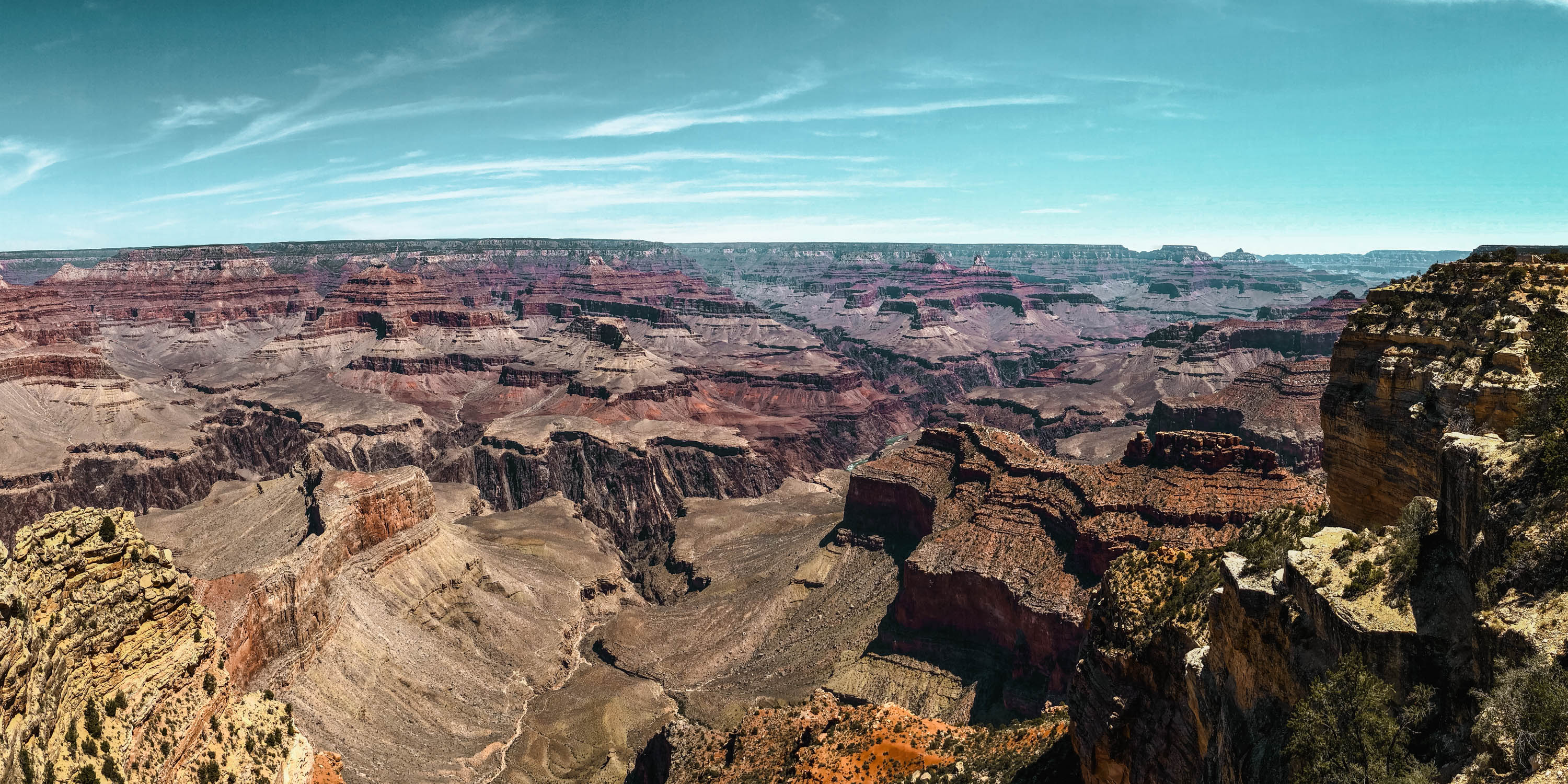 Grand Canyon Panorama View