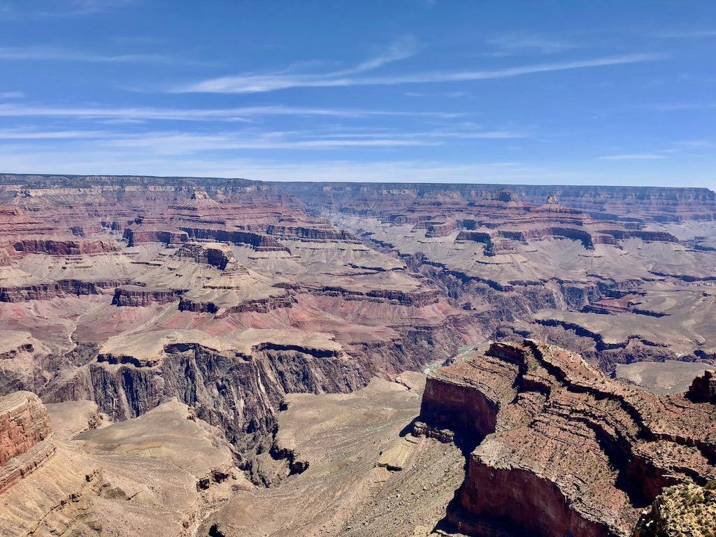 Grand Canyon South Rim Colorado River Panorama