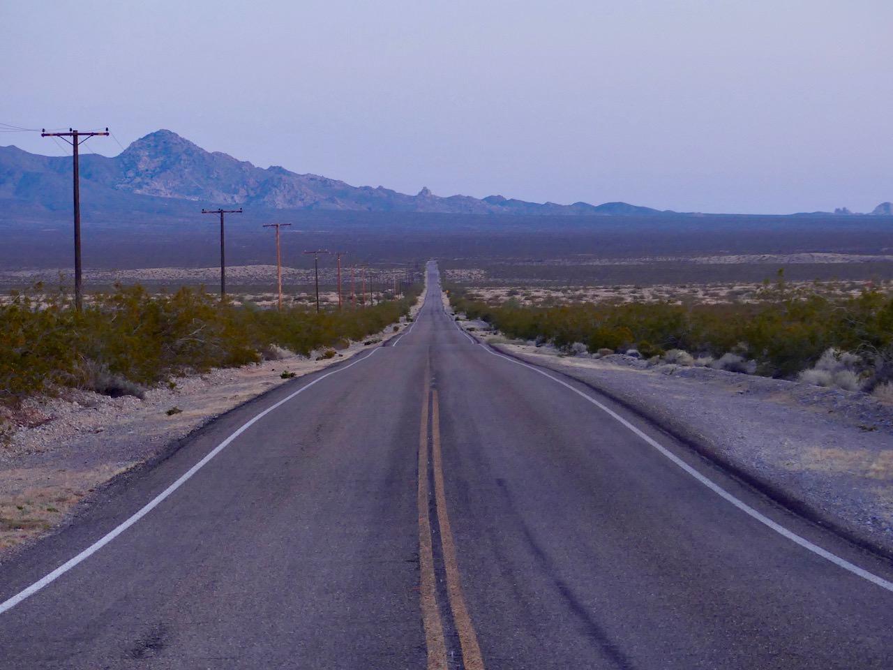 Mojave Desert Road