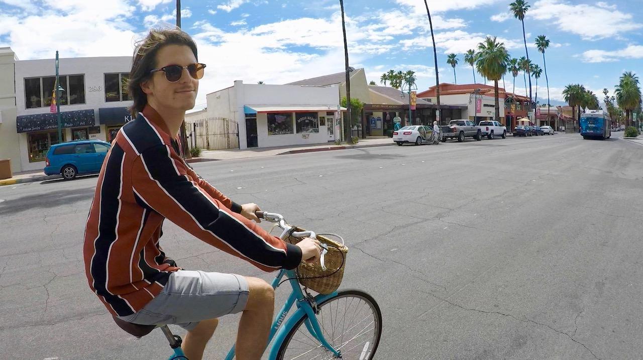Palm Springs Biking