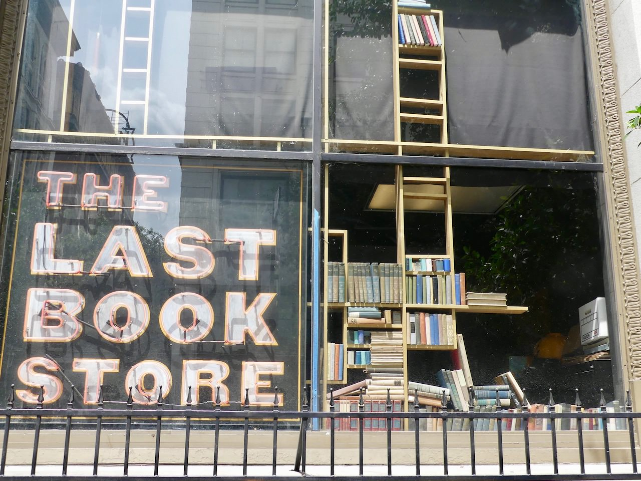 Los Angeles Downtown The Last Book Store