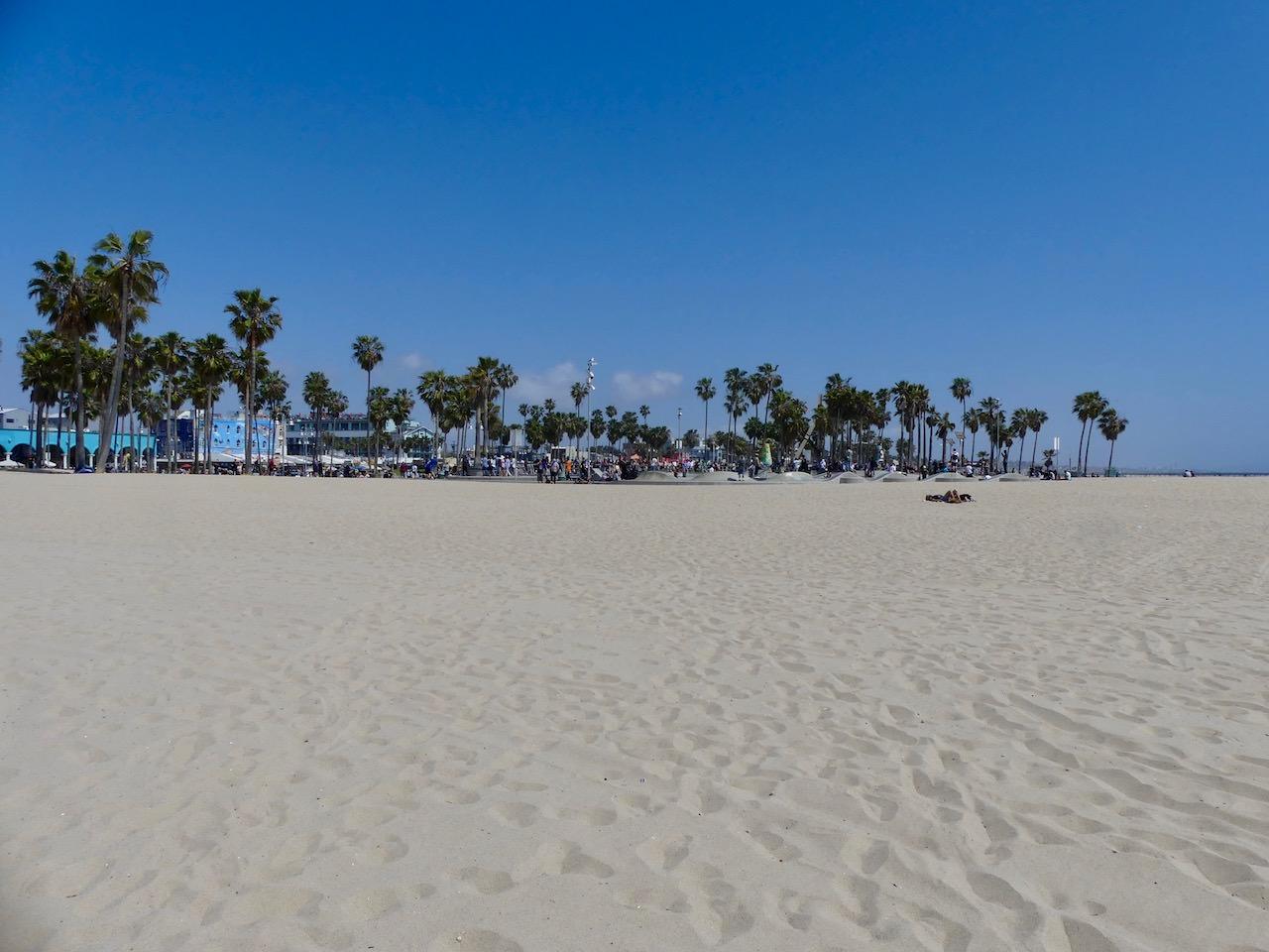 Los Angeles Venice Beach Panorama