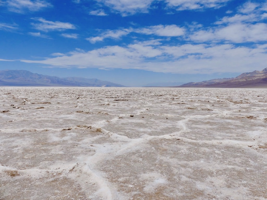 Death Valley Badwater Basin Lake
