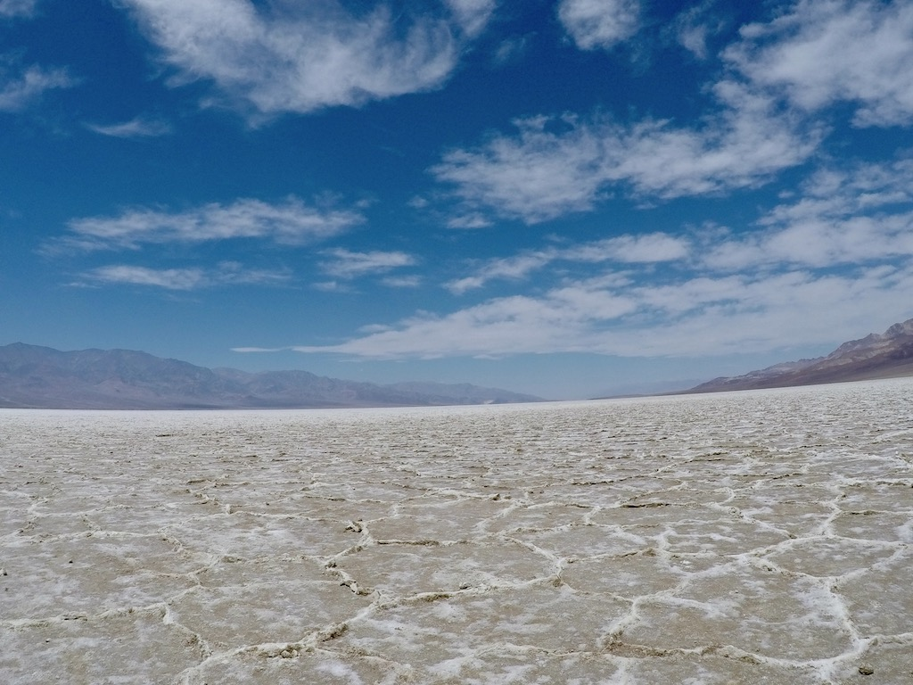 Badwater basin salt