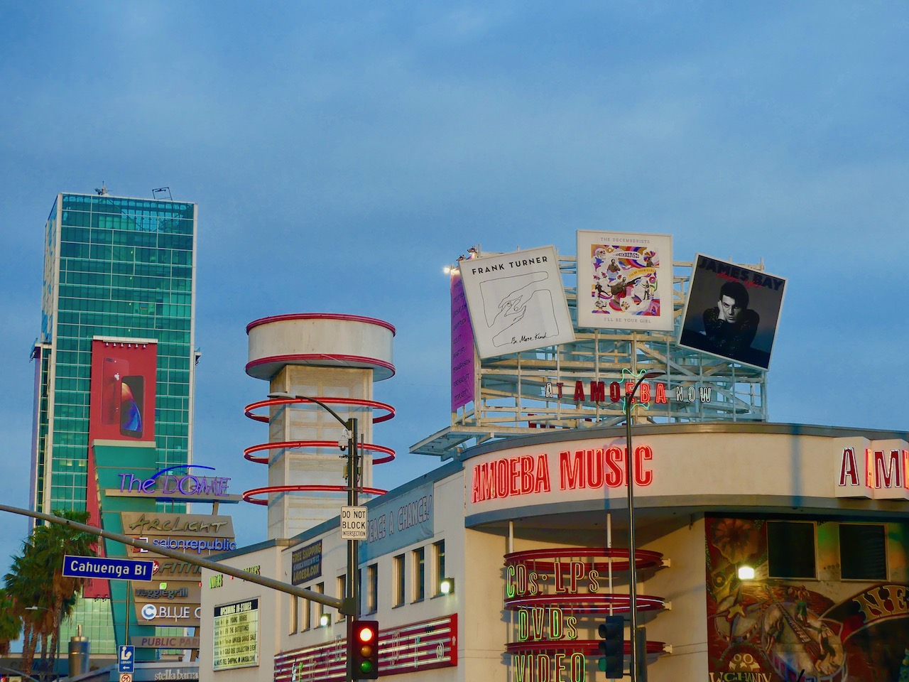 Los Angeles Beverly Hills Amoeba Music