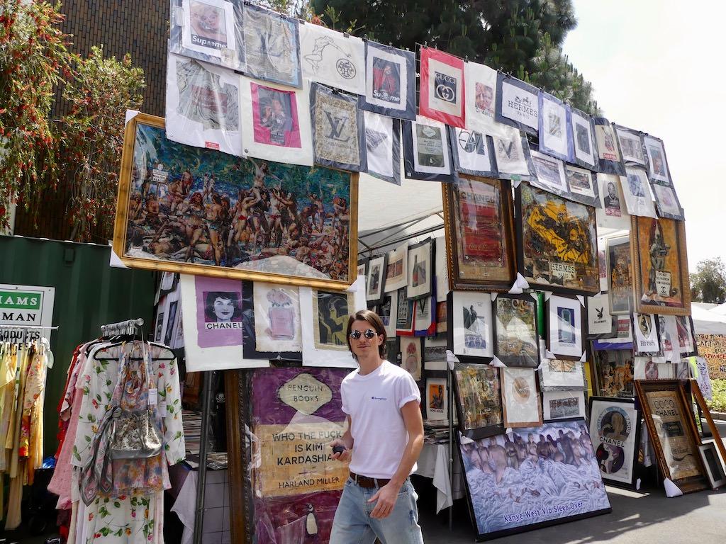 Los Angeles Fairfax Flea Market
