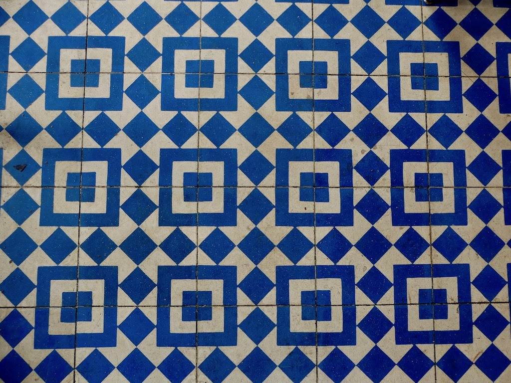 Los Angeles Melrose Avenue Intelligentsia Cafe Floor