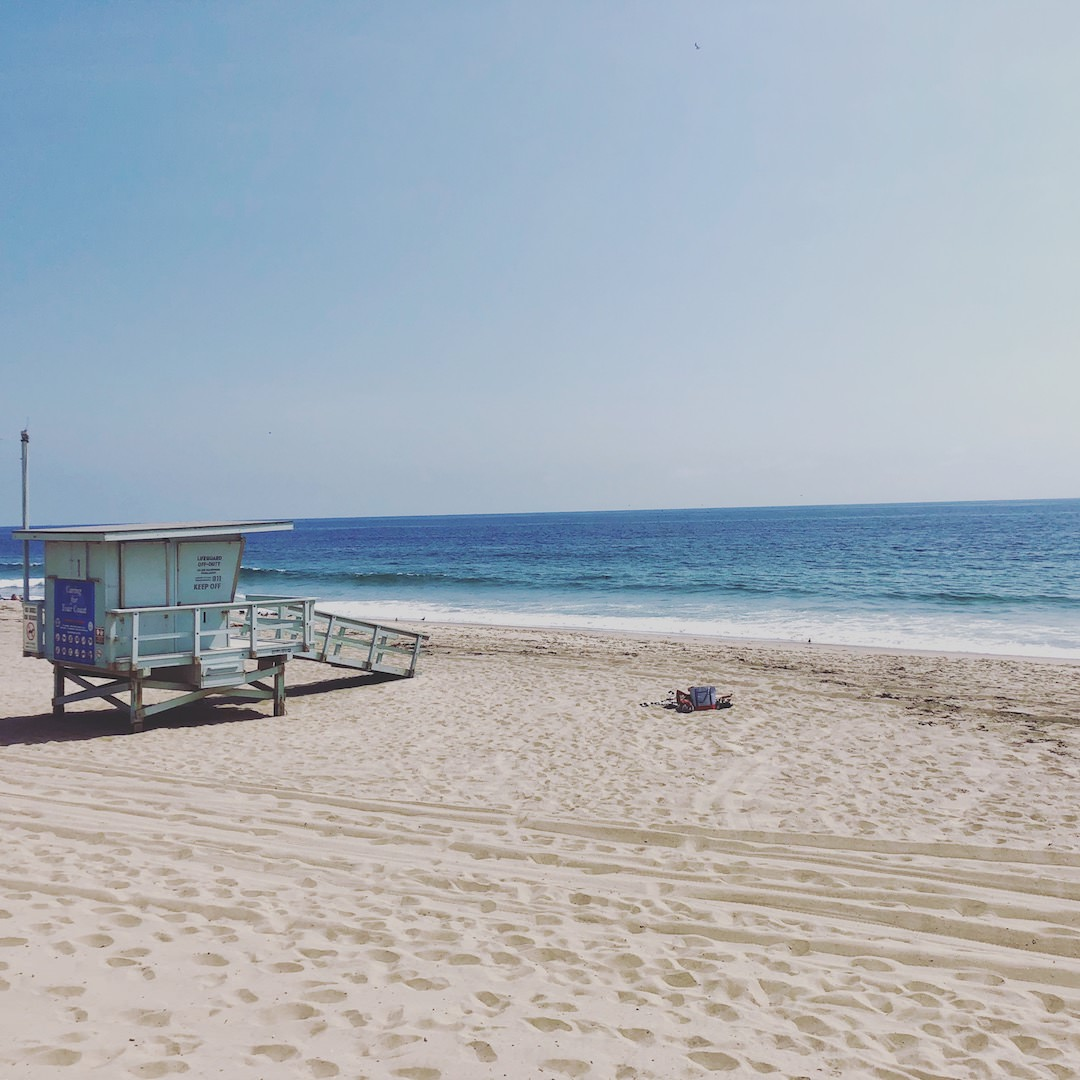 Los Angeles Point Dame State Beach Malibu