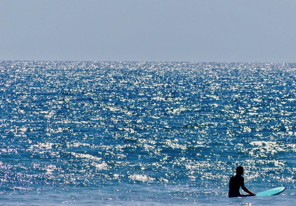 Los Angles Santa Monica Beach Surfing