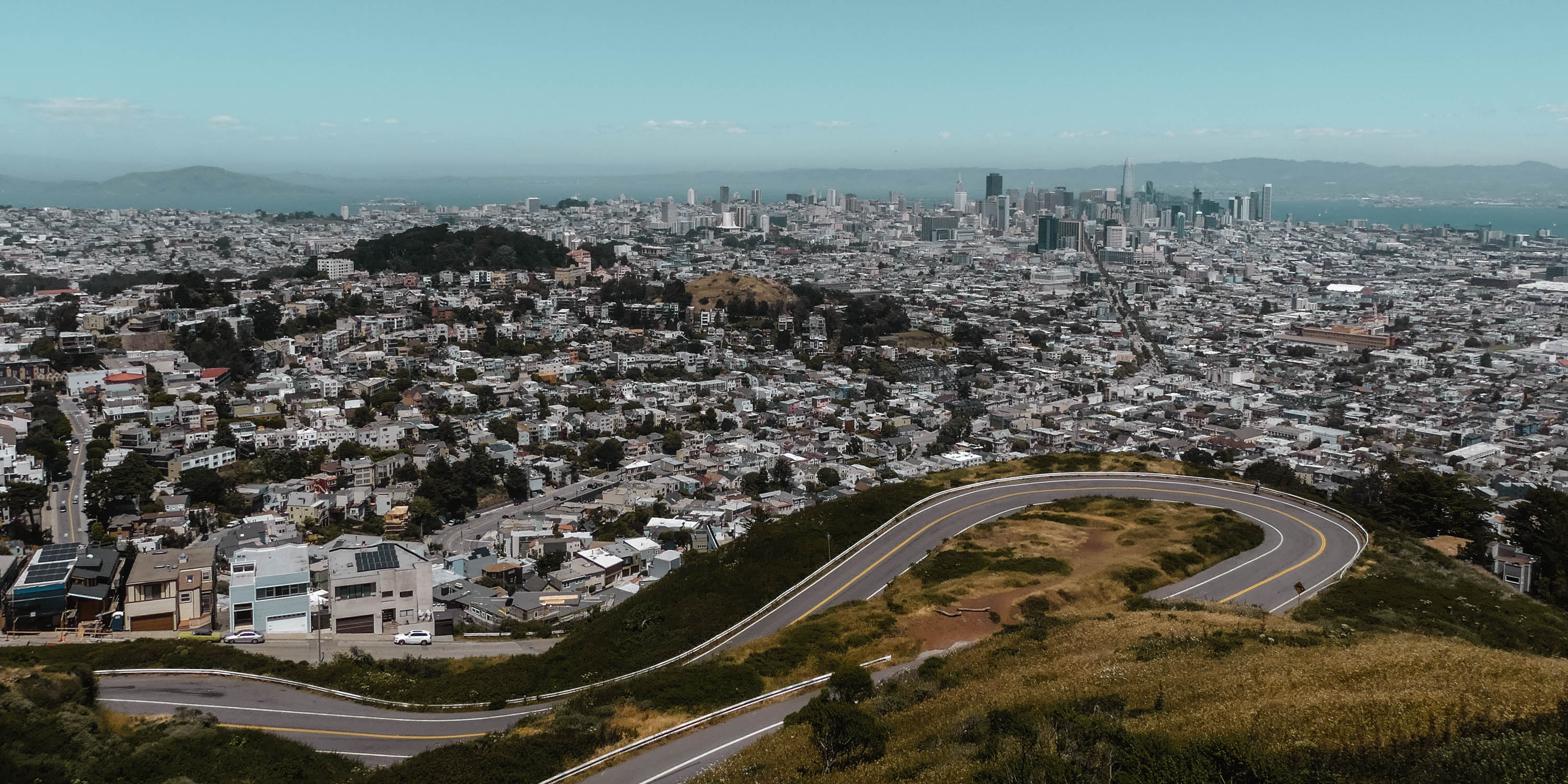 San Francisco Twin Peaks Panorama View