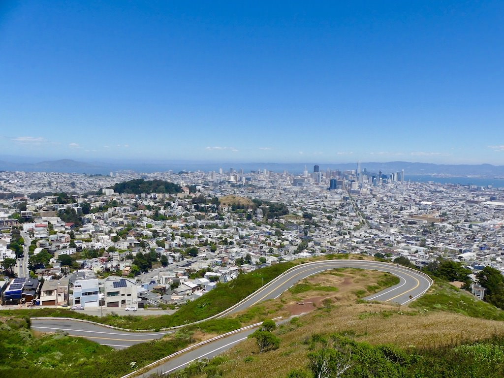 San Francisco Twin Peaks Panorama