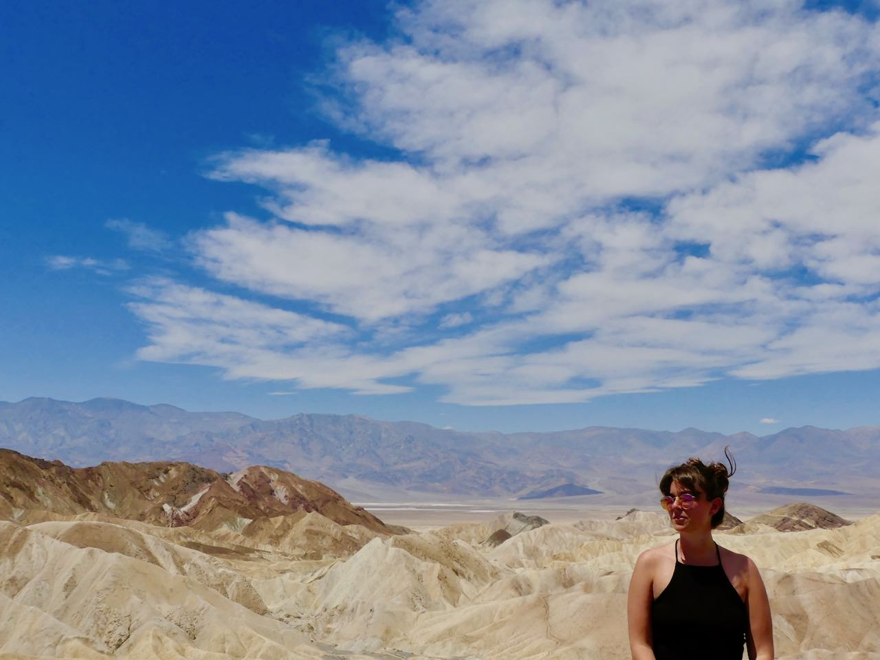 Death Valley Zabriskie Point View