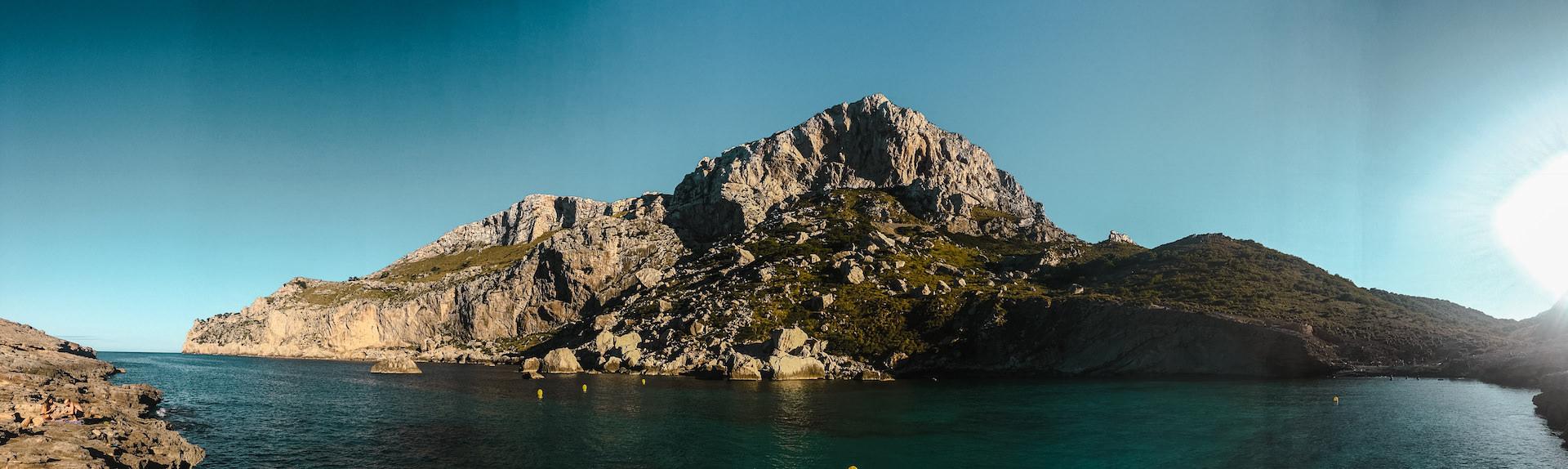 Cala Figuera Mallorca Panorama