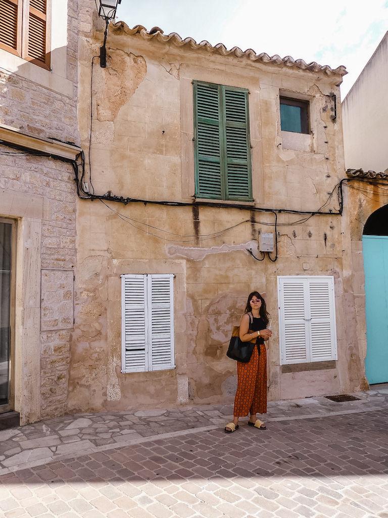Mallorca Santanyi Streets