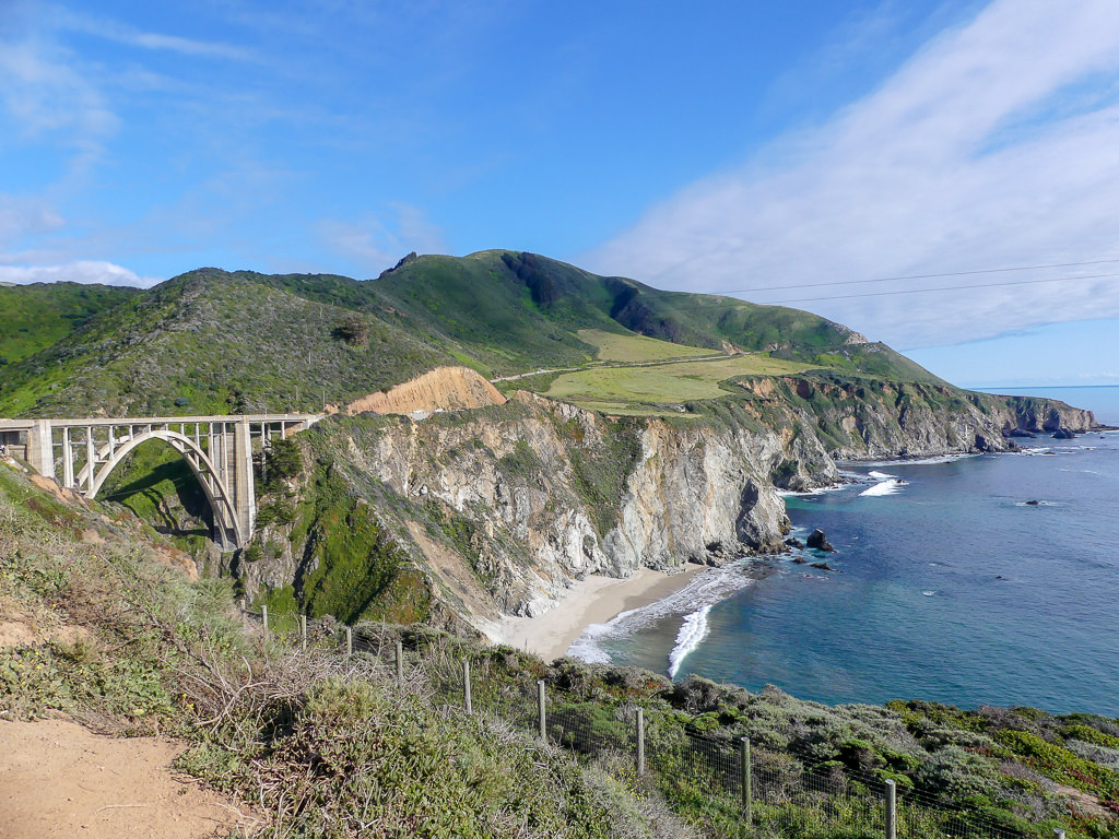 Pacific Coast Highway Big Sur Bixby Bridge