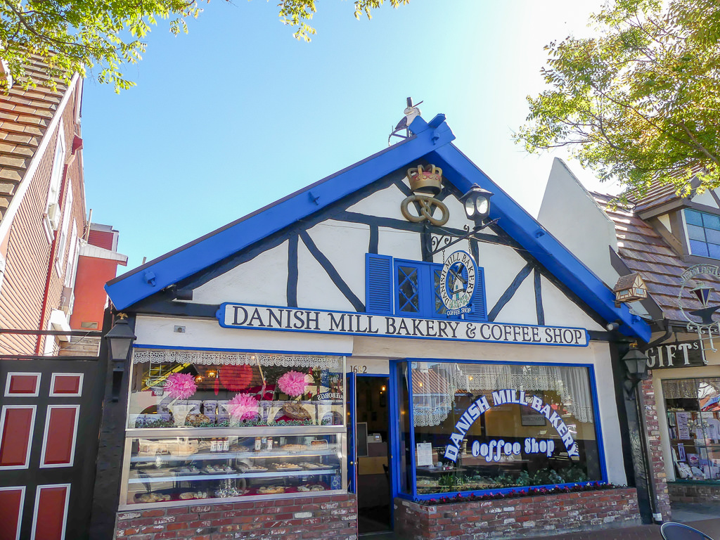Pacific Coast Highway Solvang Danish Village Bakery