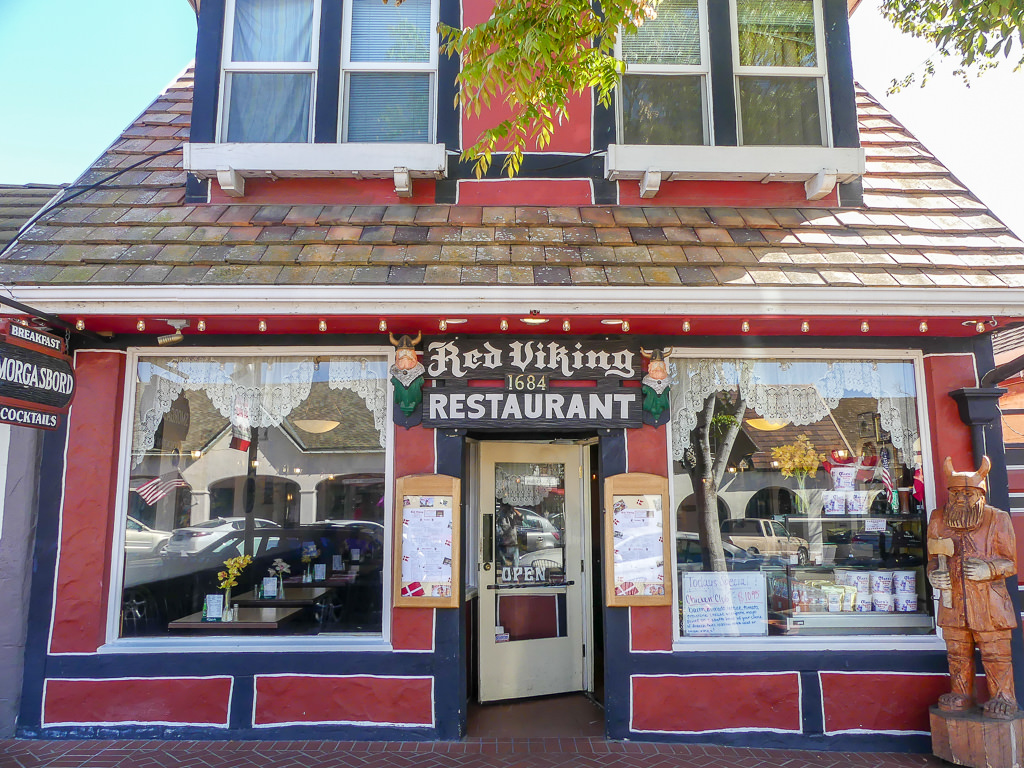 Pacific Coast Highway Solvang Danish Village Viking Restaurant