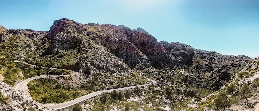 Mallorca Sa Calobra Road