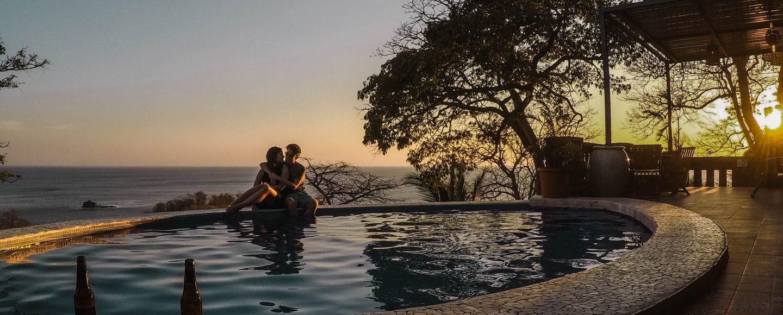 About us Header Nicaragua San Juan del sur Playa Maderas Punset Pool Couple