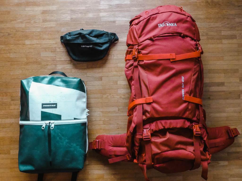 Questions and Answers Q8 Weltreise Packliste Rucksäcke, Backpacks und Taschen