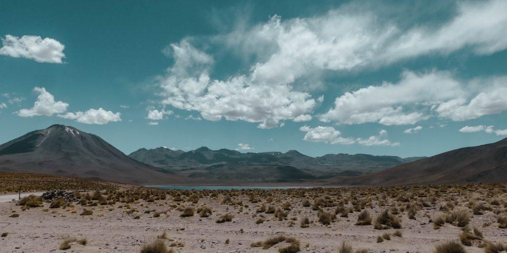 Atacama Wüste Laguna Miniques