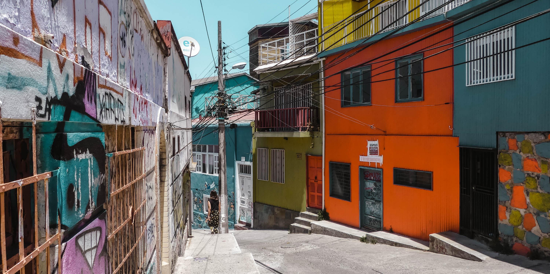 Valparaíso Ascensor Artillería Avenida