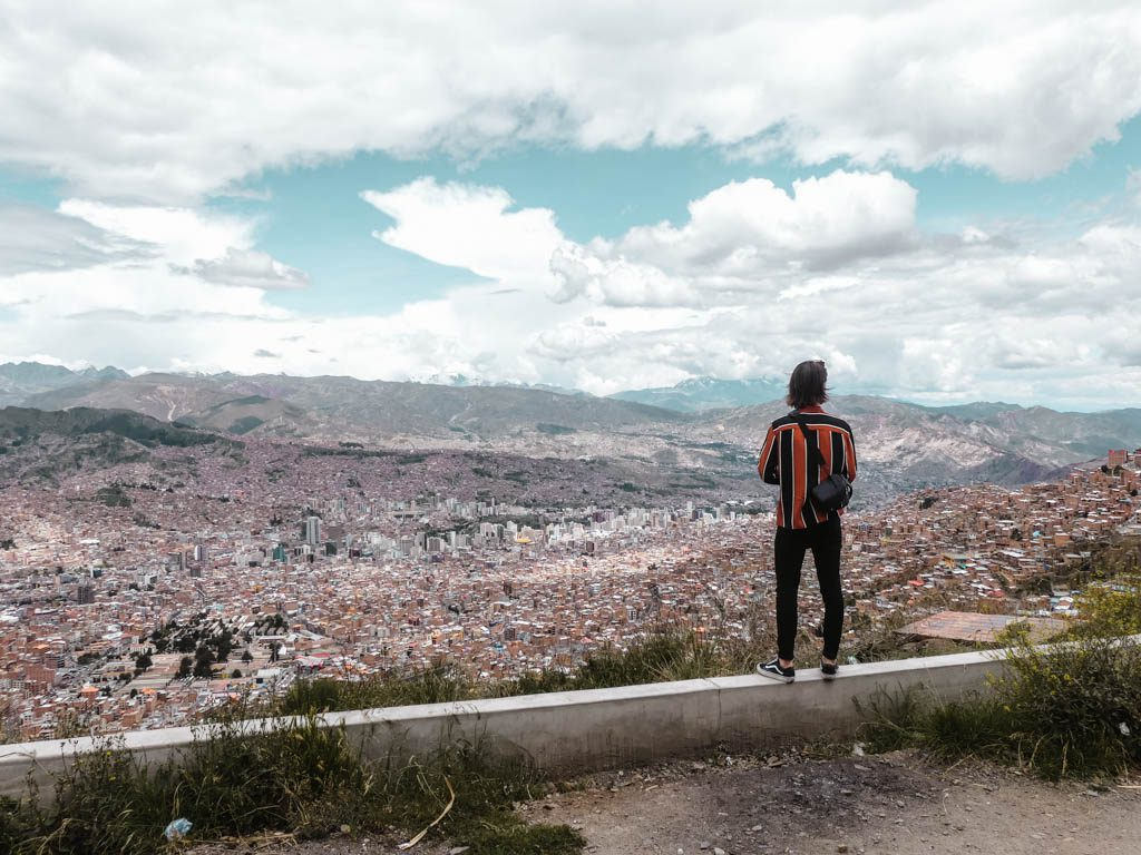 La Paz Bolivia El Alto View City Panorama