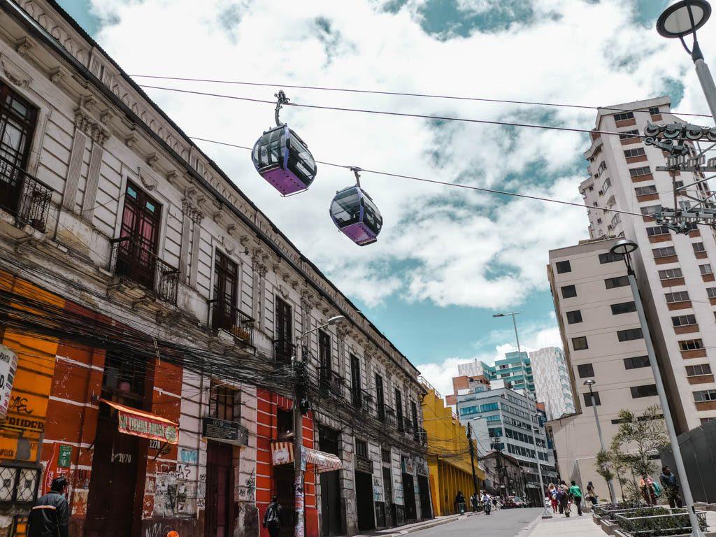 La Paz Bolivia Mi teleferico