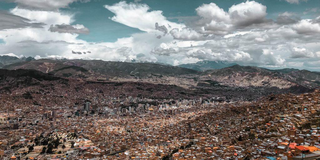 La Paz Bolivia Viewpoint El Alto