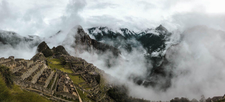Machu Picchu von oben Titelbild